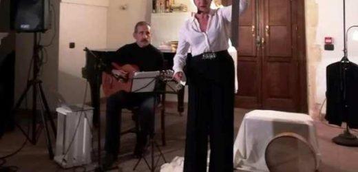"""""""Il viaggio del Meschino"""", Miriam Palma in compagnia di Nino Giannotta incantano il pubblico di Canicattini Bagni"""